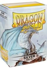 Arcane Tinmen Sleeves: Dragon Shield Matte (100) Silver