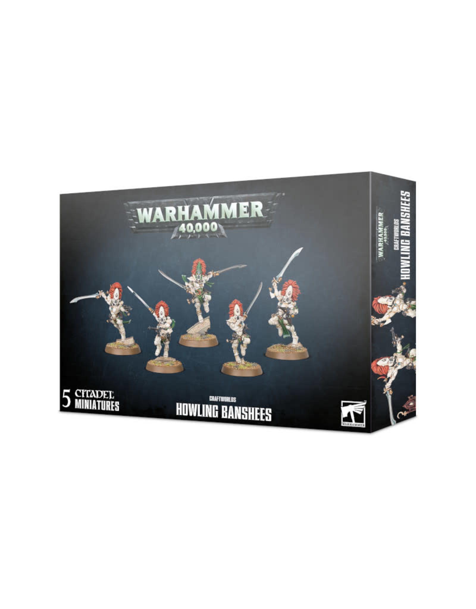 Games Workshop Warhammer 40K Craftworlds Howling Banshees
