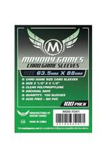 Mayday Games Sleeves: Standard Card Game (100) (Green)