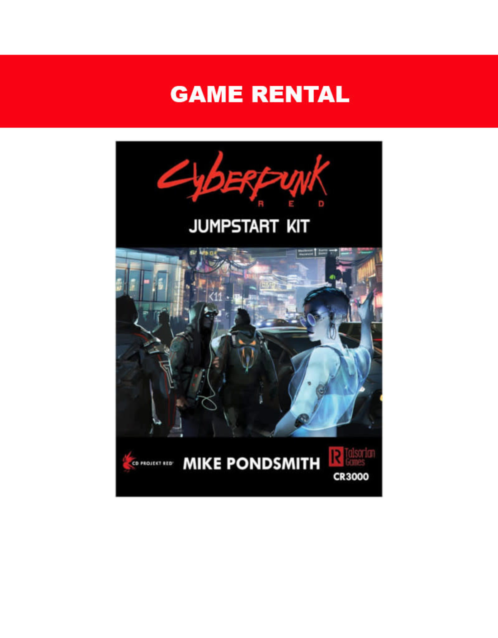 R. Talsorian Games (RENT) Cyberpunk Red Jumpstart Kit For a Day. Love It! Buy It!