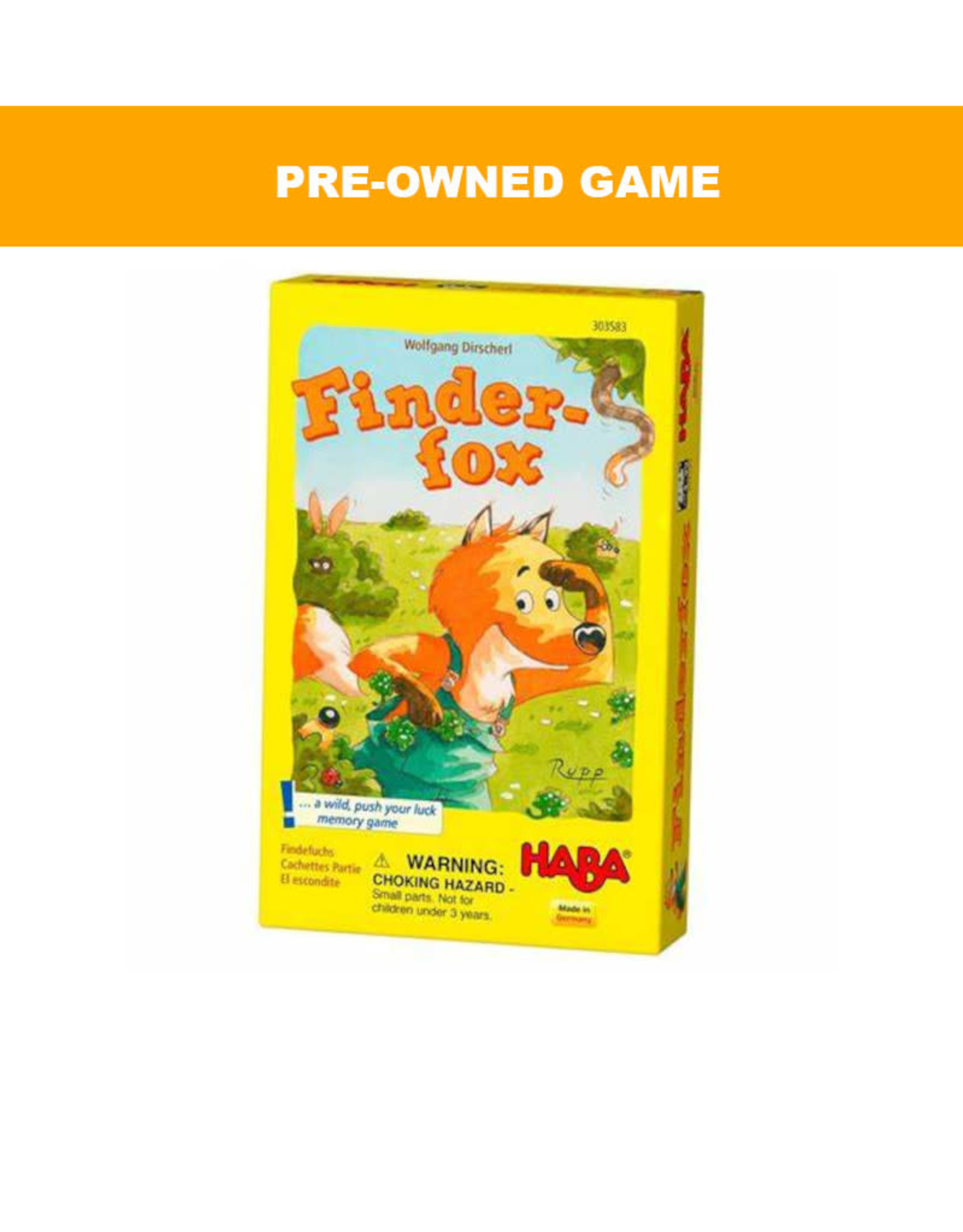 (Pre-Owned Game) Finder-Fox