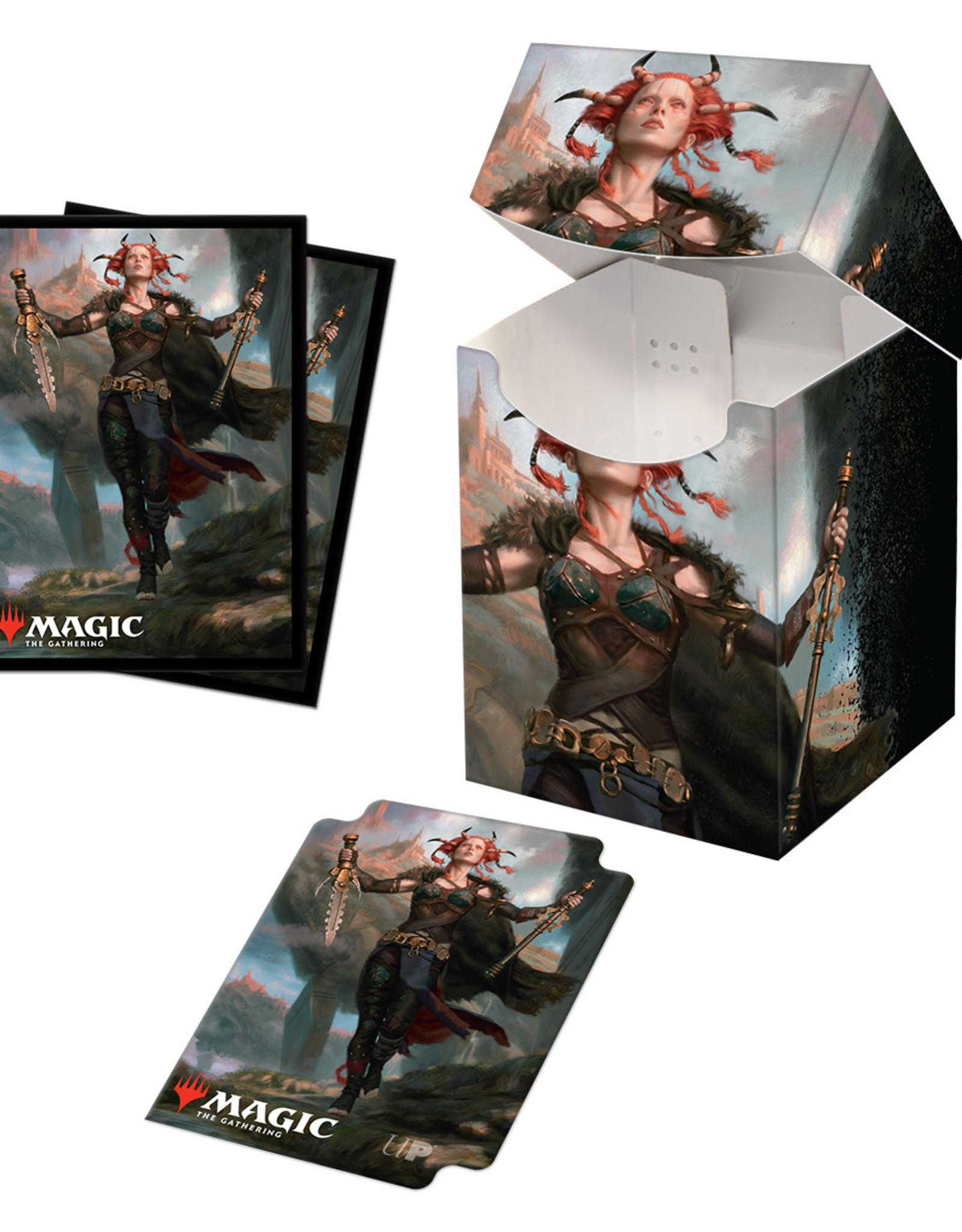 ULP MTG Commander Legends Combo v2 Pro 100+ Deck Box and (100 CT) Sleeves (Pre-Order)