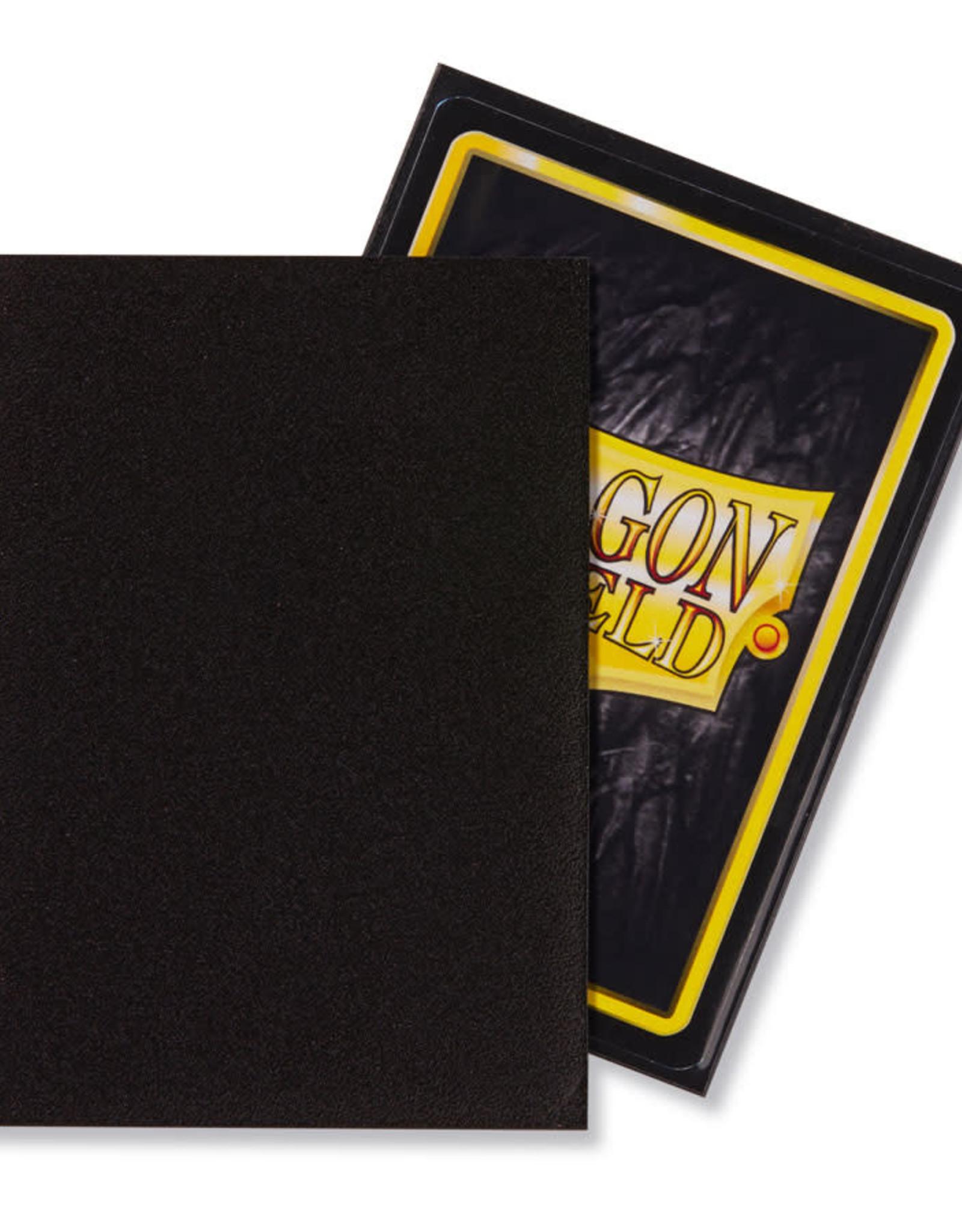 Arcane Tinmen Deck Protectors: Dragon Shield Matte (100) Black
