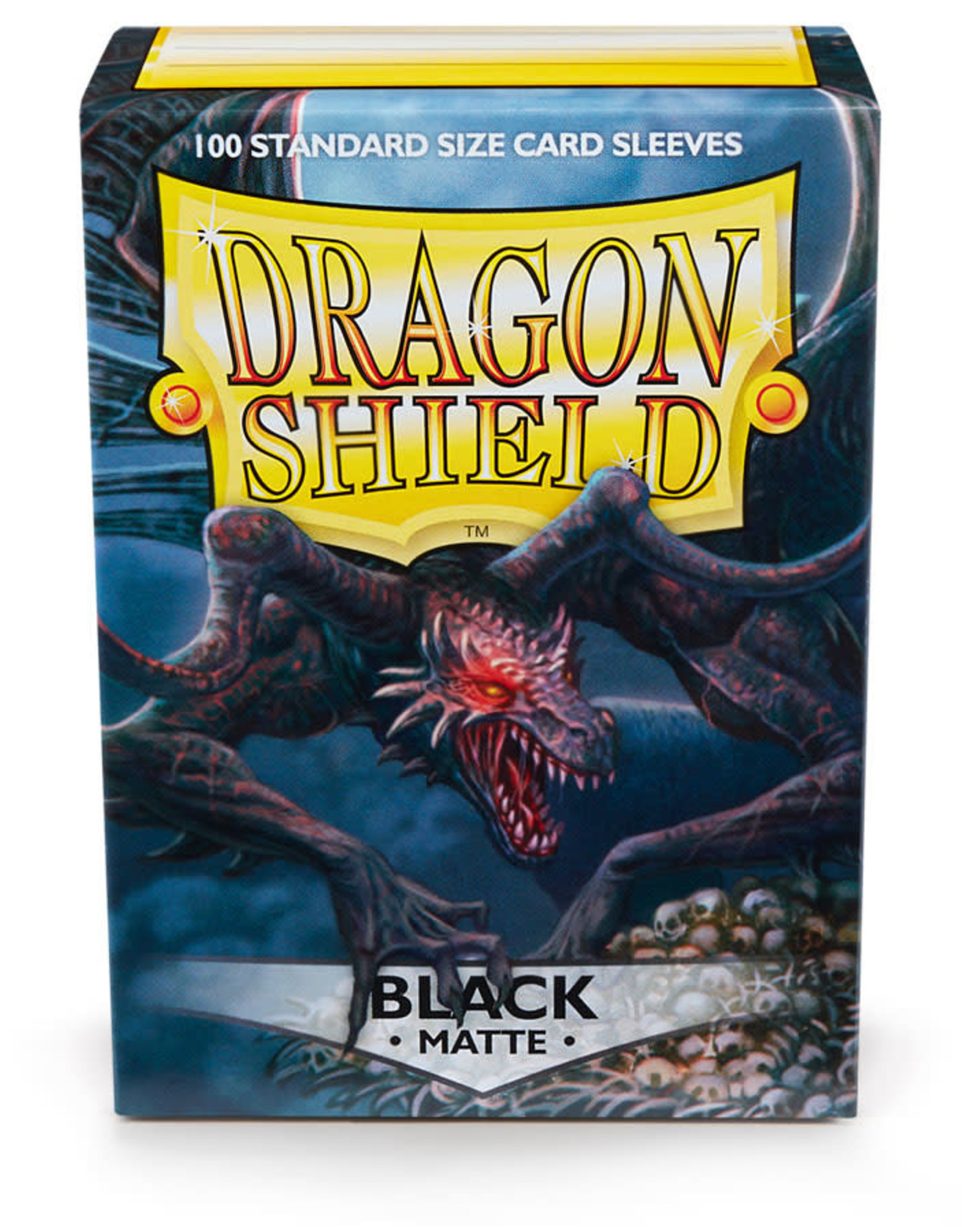 Arcane Tinmen Sleeves: Dragon Shield Matte (100) Black
