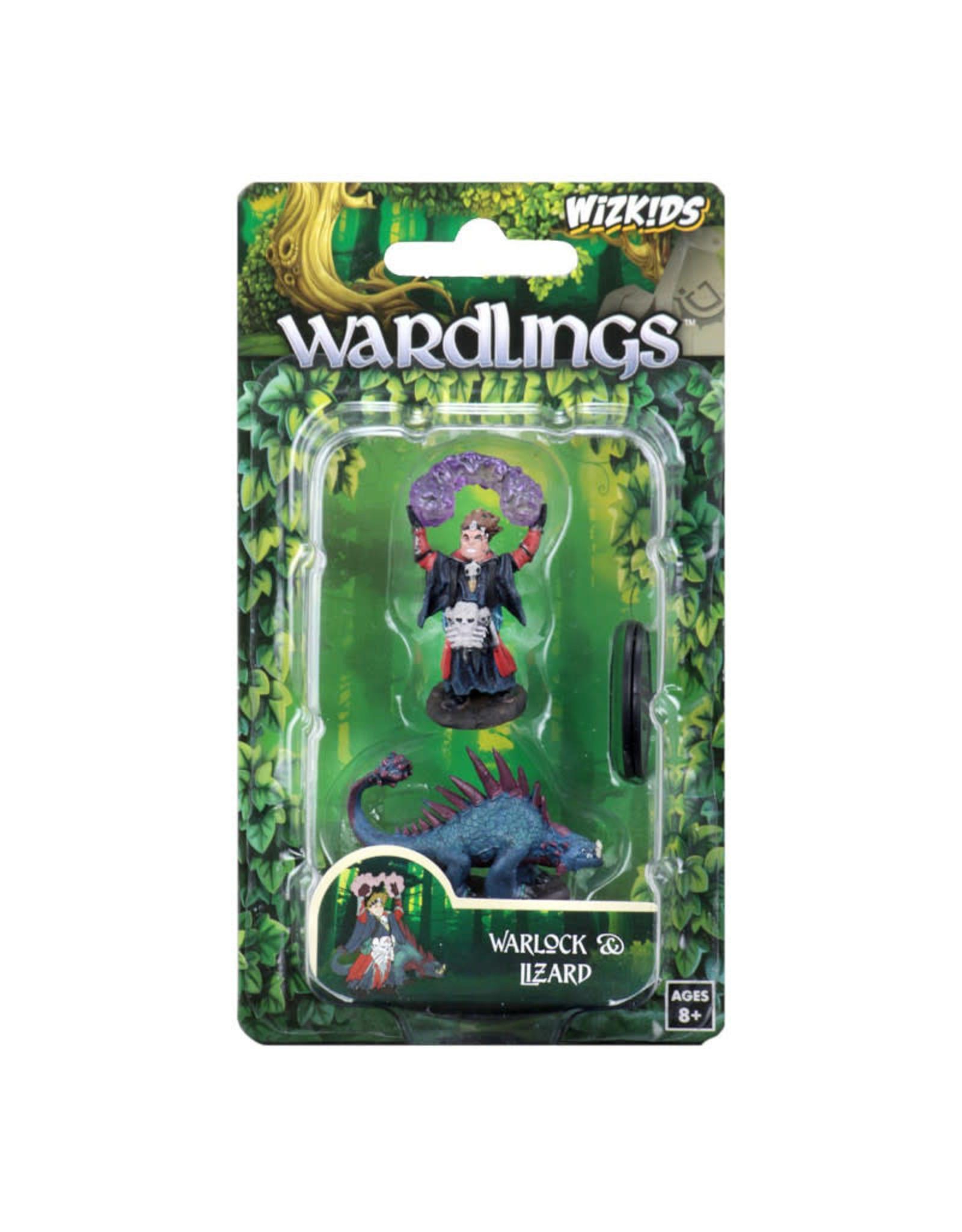 Wizkids Wardlings: Boy Warlock and Lizard