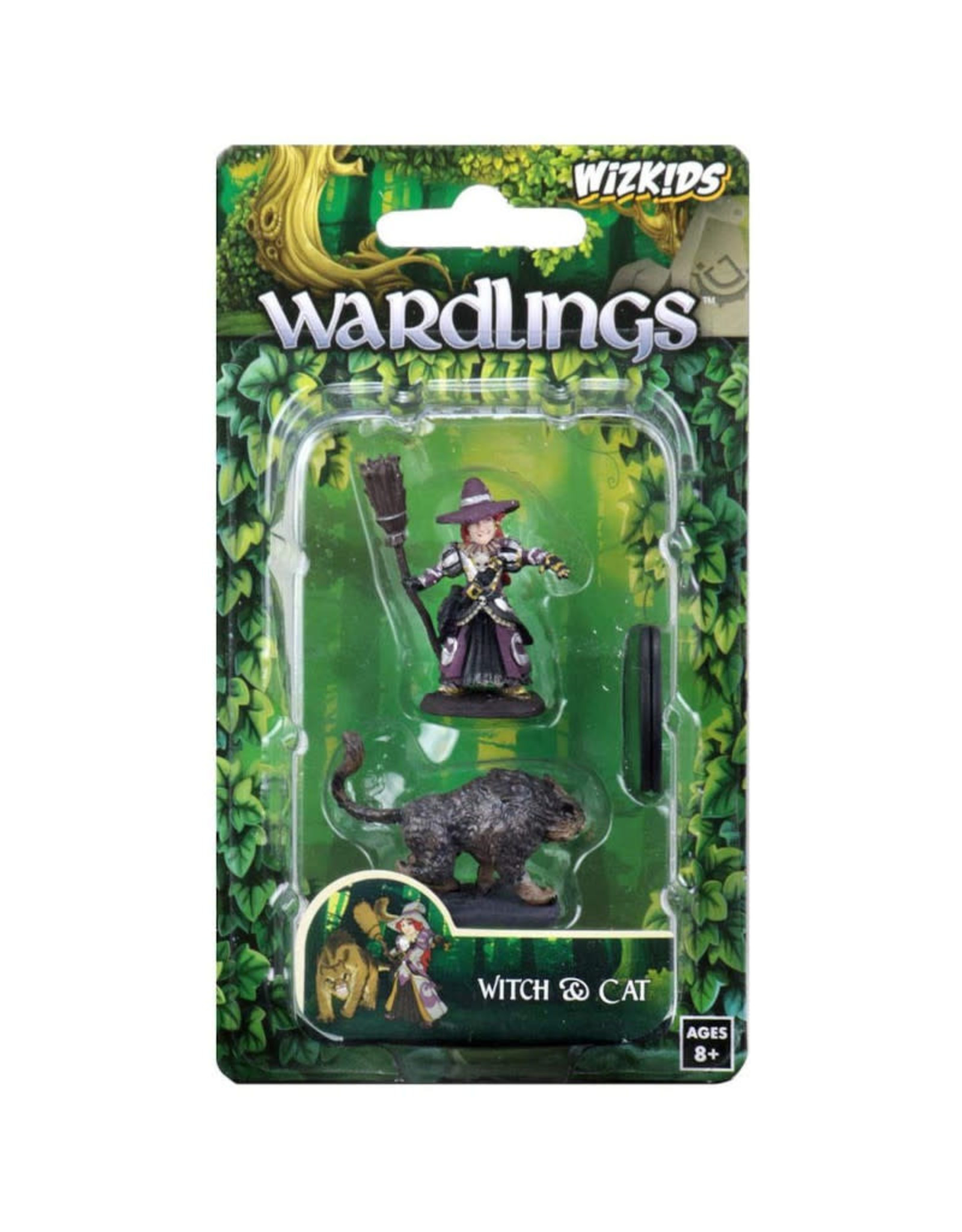 Wizkids Wardlings: Girl Witch and Cat