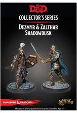 Gale Force 9 Waterdeep painted Minis: Zalthar & Dezmyr