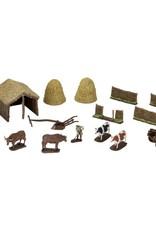 Wizkids 4D Settings: Midieval Farmer