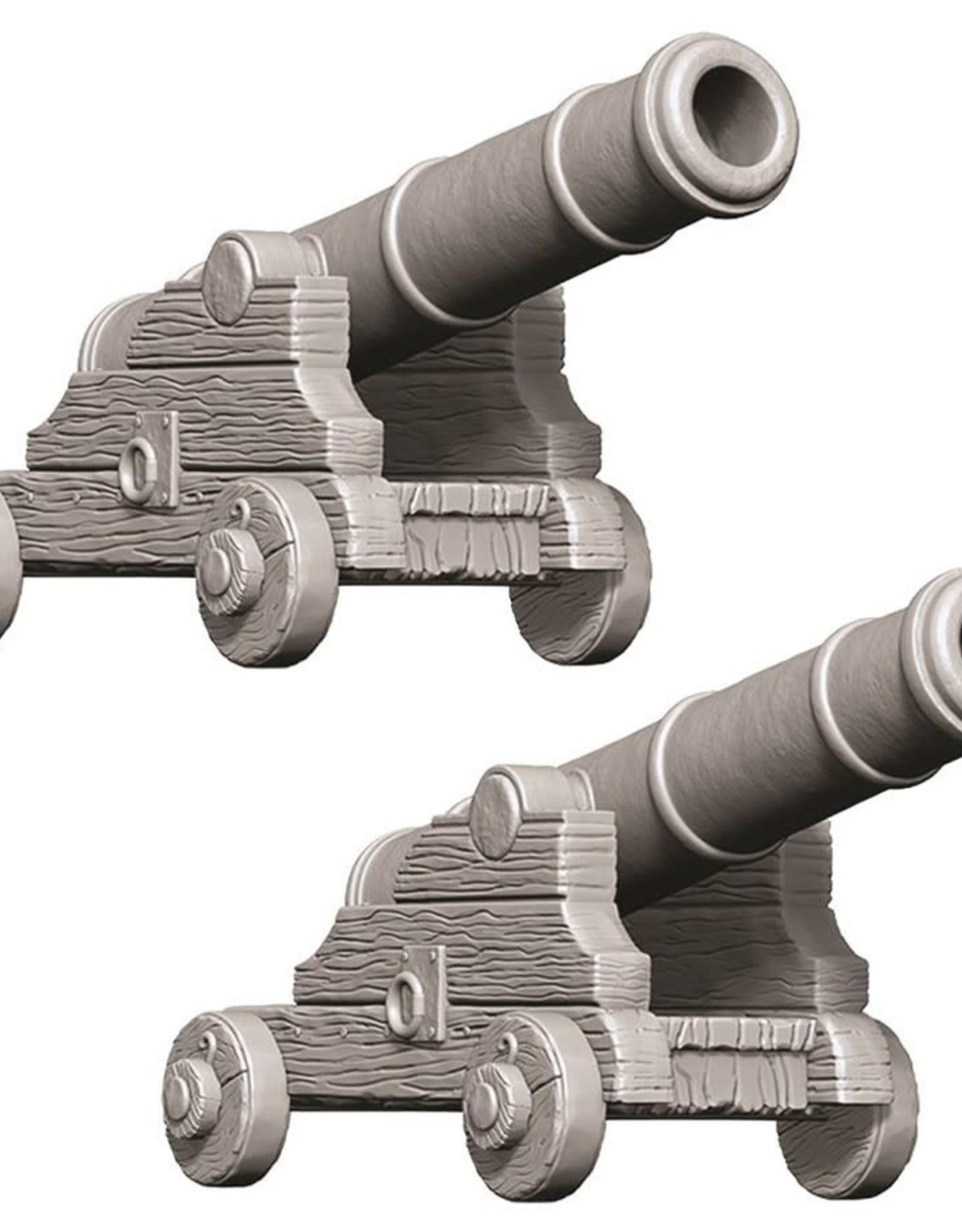 Wizkids Deep Cuts Unpainted Minis: Cannons