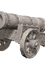 Wizkids Deep Cuts Unpainted Minis: Large Cannon