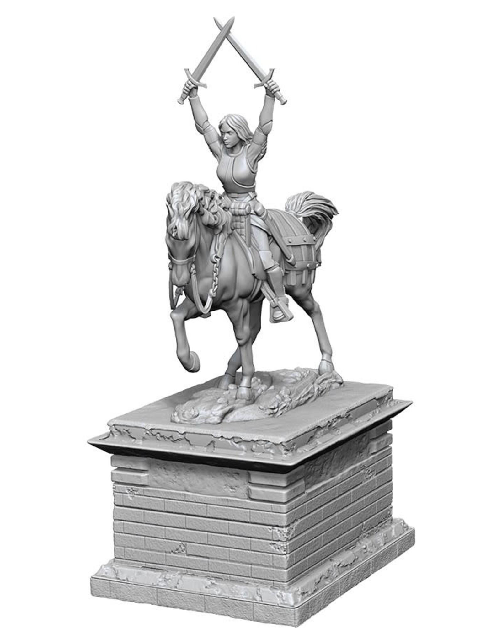 Wizkids Deep Cuts Unpainted Minis: Heroic Statue