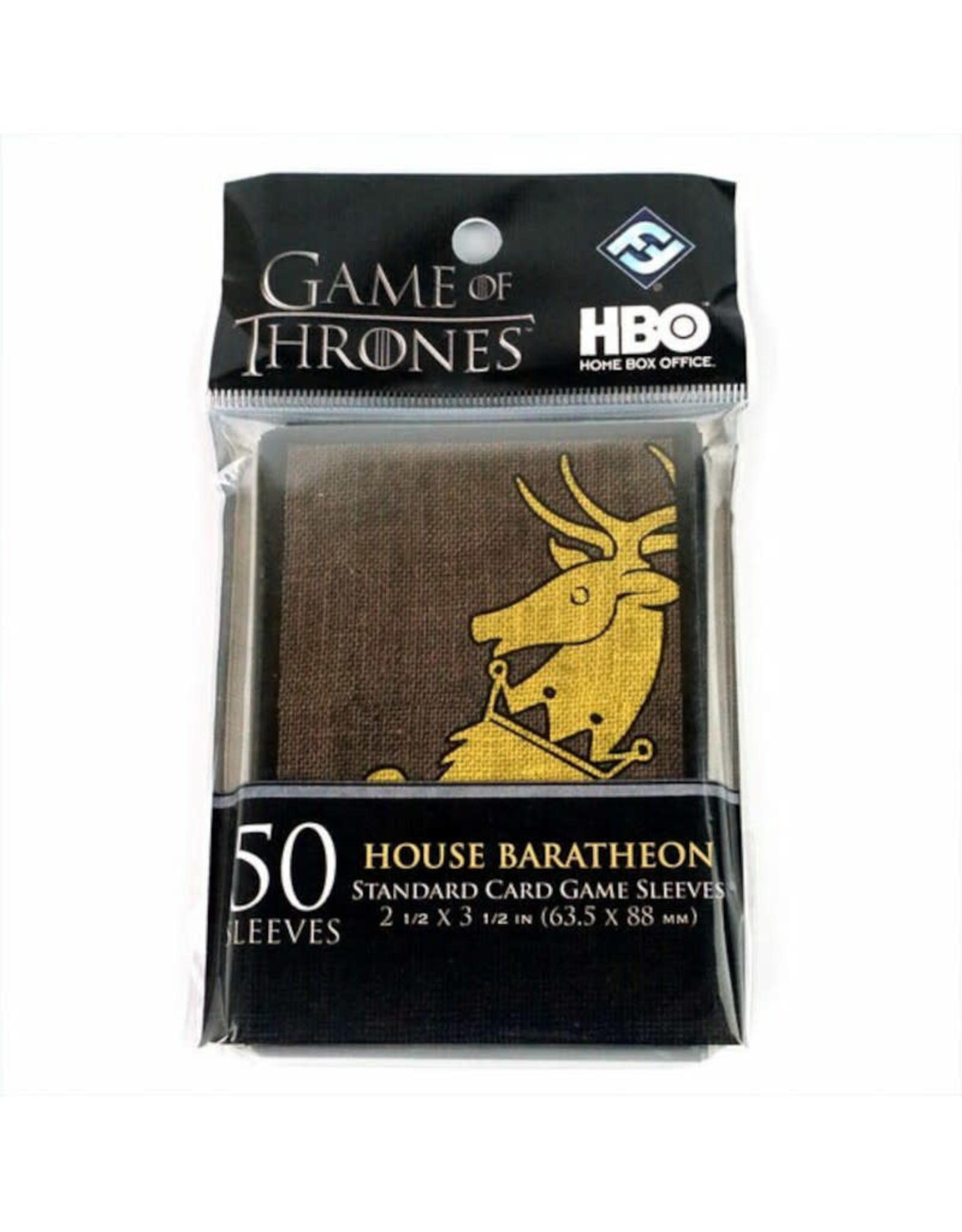Fantasy Flight Games Deck Protectors: Game of Thrones (50) Baratheon