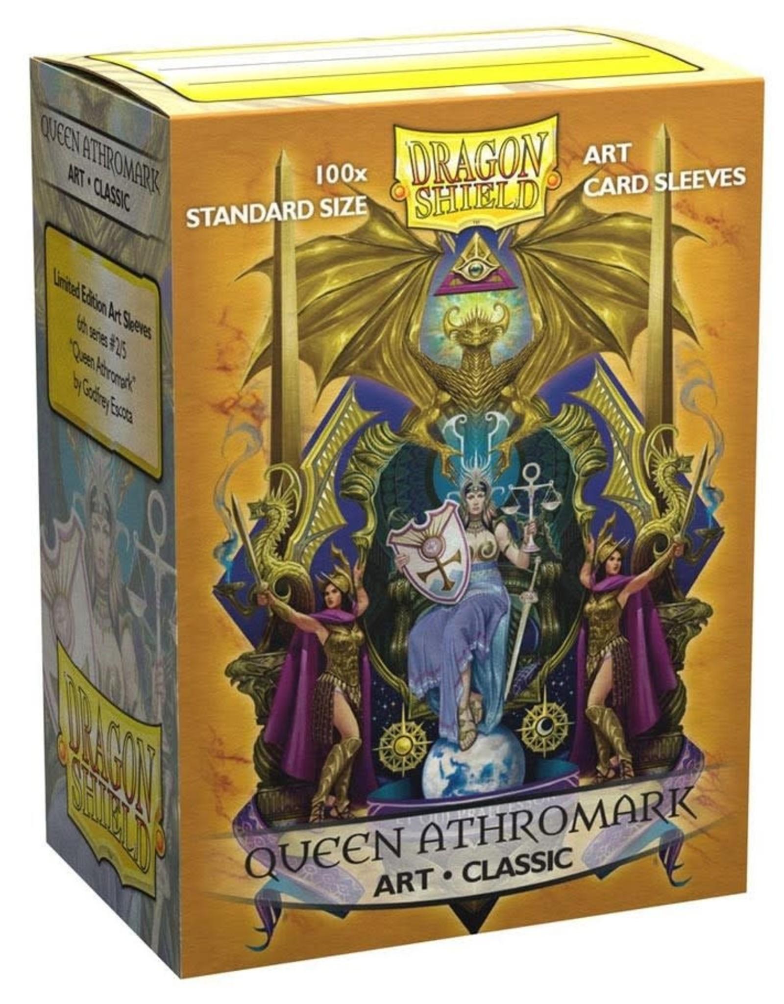 Arcane Tinmen Deck Protectors: Dragon Shield Matte Art (100) Queen Athromark