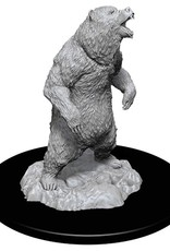 Wizkids Deep Cuts Unpainted Minis: Grizzly