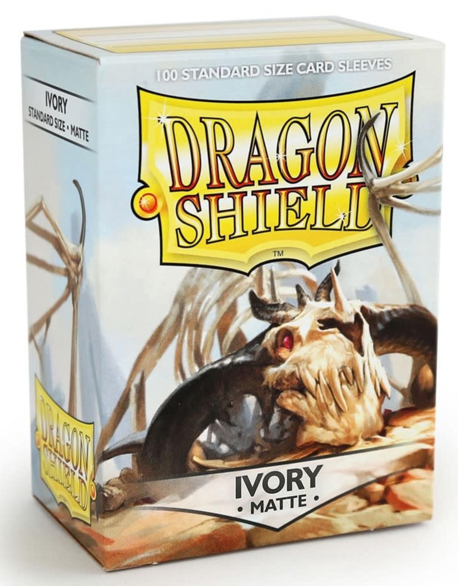 Arcane Tinmen Deck Protectors: Dragon Shield Matte (100) Ivory