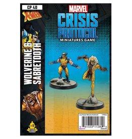 Marvel Crisis Protocol Wolverine & Sabertooth