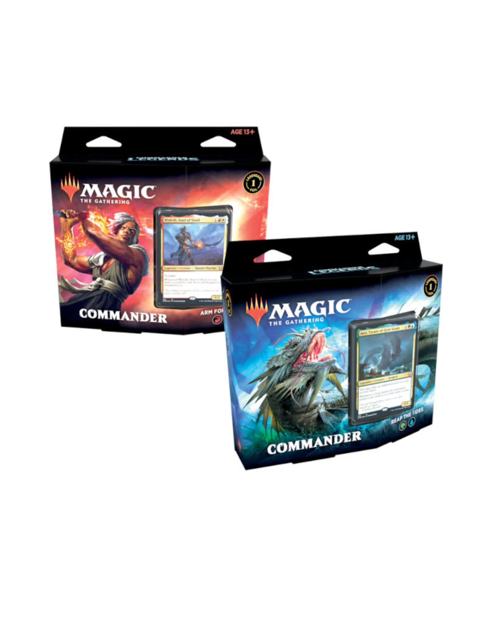Wizards of the Coast MTG Commander Legends Decks -  Set of 2 (Pre-Order)