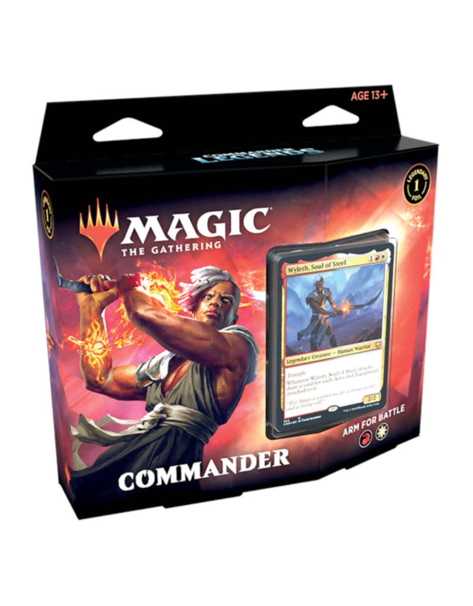 Wizards of the Coast MTG Commander Legends Arm for Battle Commander Deck