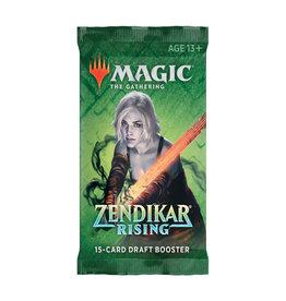 Wizards of the Coast MTG Zendikar Rising Draft Booster