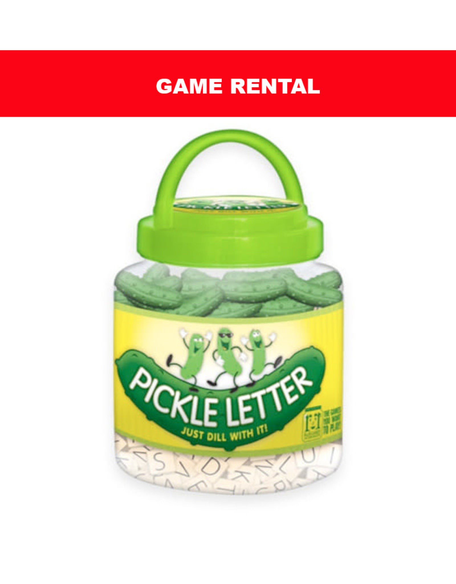 (RENT) PICKLE LETTER for a Day. Love It! Buy It!