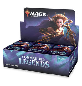 Wizards of the Coast MTG Commander Legends Draft Booster Box (24)