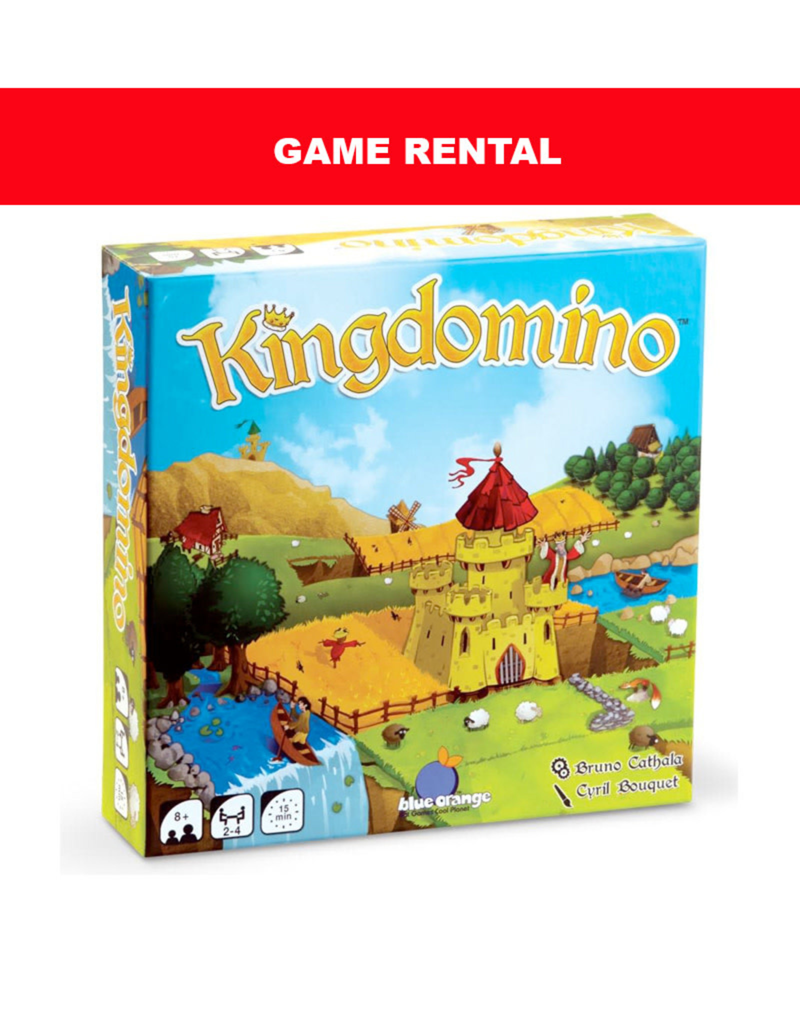 Blue Orange Games (RENT) KINGDOMINO for a Day. Love It! Buy It!