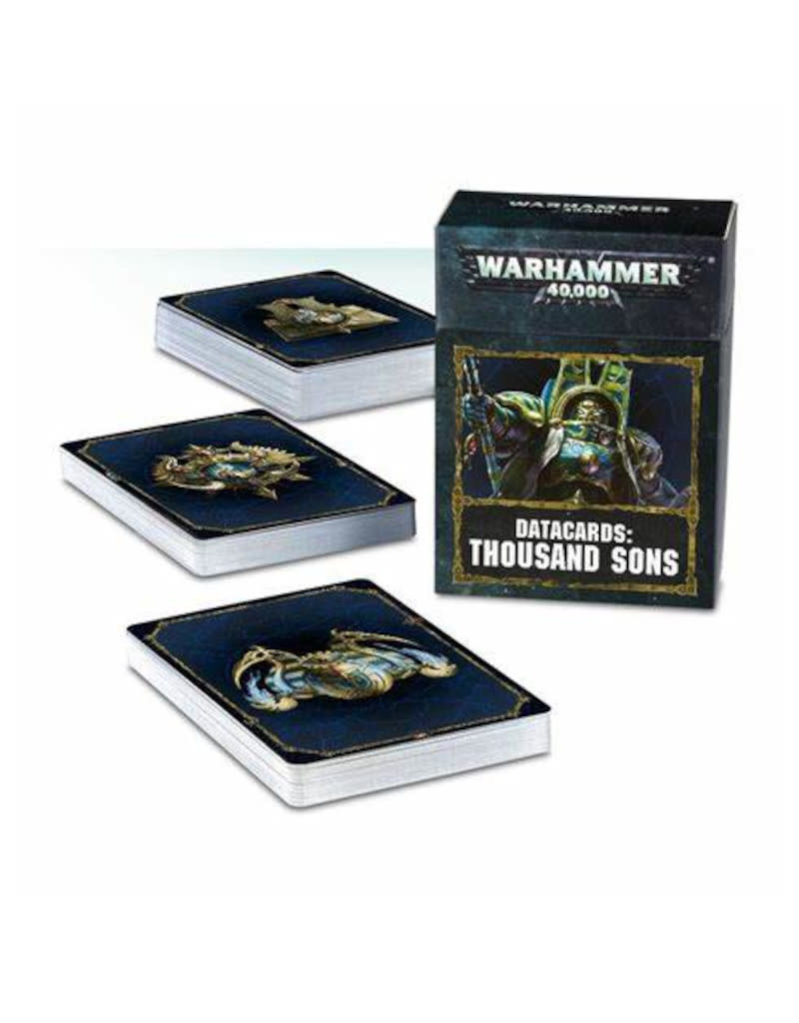 Games Workshop Warhammer 40K Datacards Thousand Sons (8th Edition)