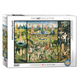 Eurographics Garden of Earthly Delights Puzzle 1000 PCS