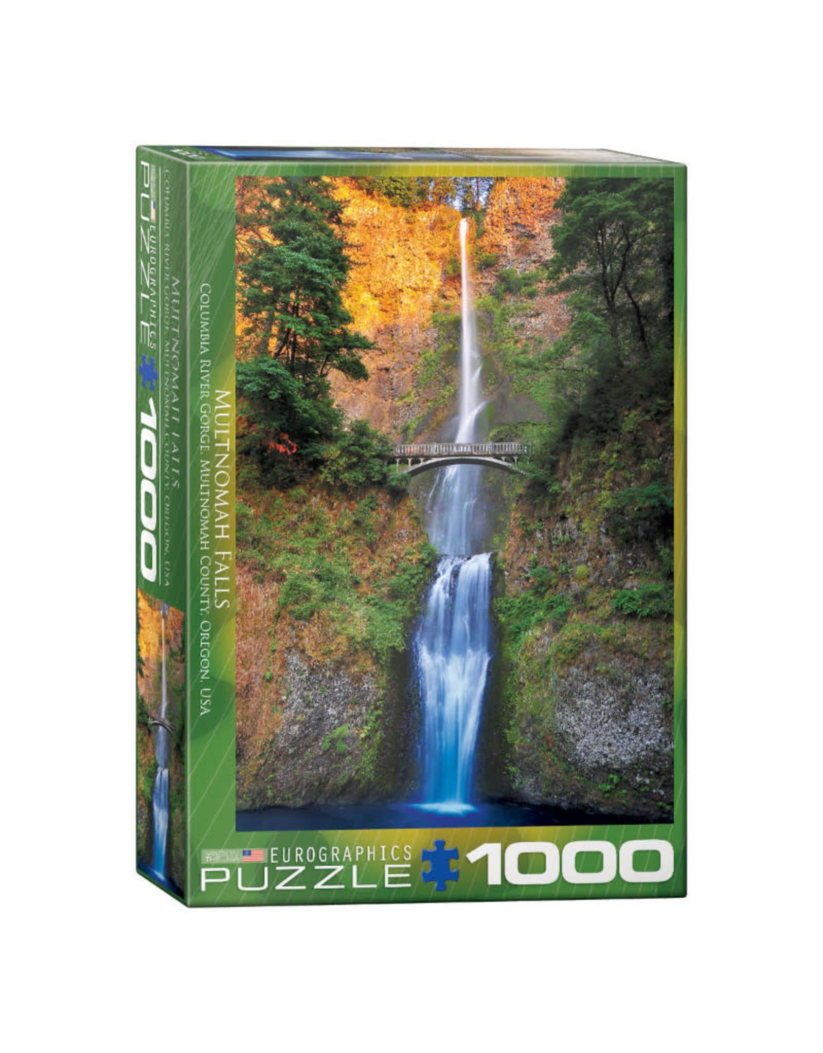 Eurographics Multnomah Falls Oregon Puzzle 1000 PCS