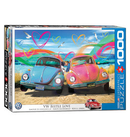 Eurographics VW Beetle Love Puzzle 1000 PCS