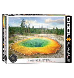 Eurographics Morning Glory Pool Puzzle 1000 PCS