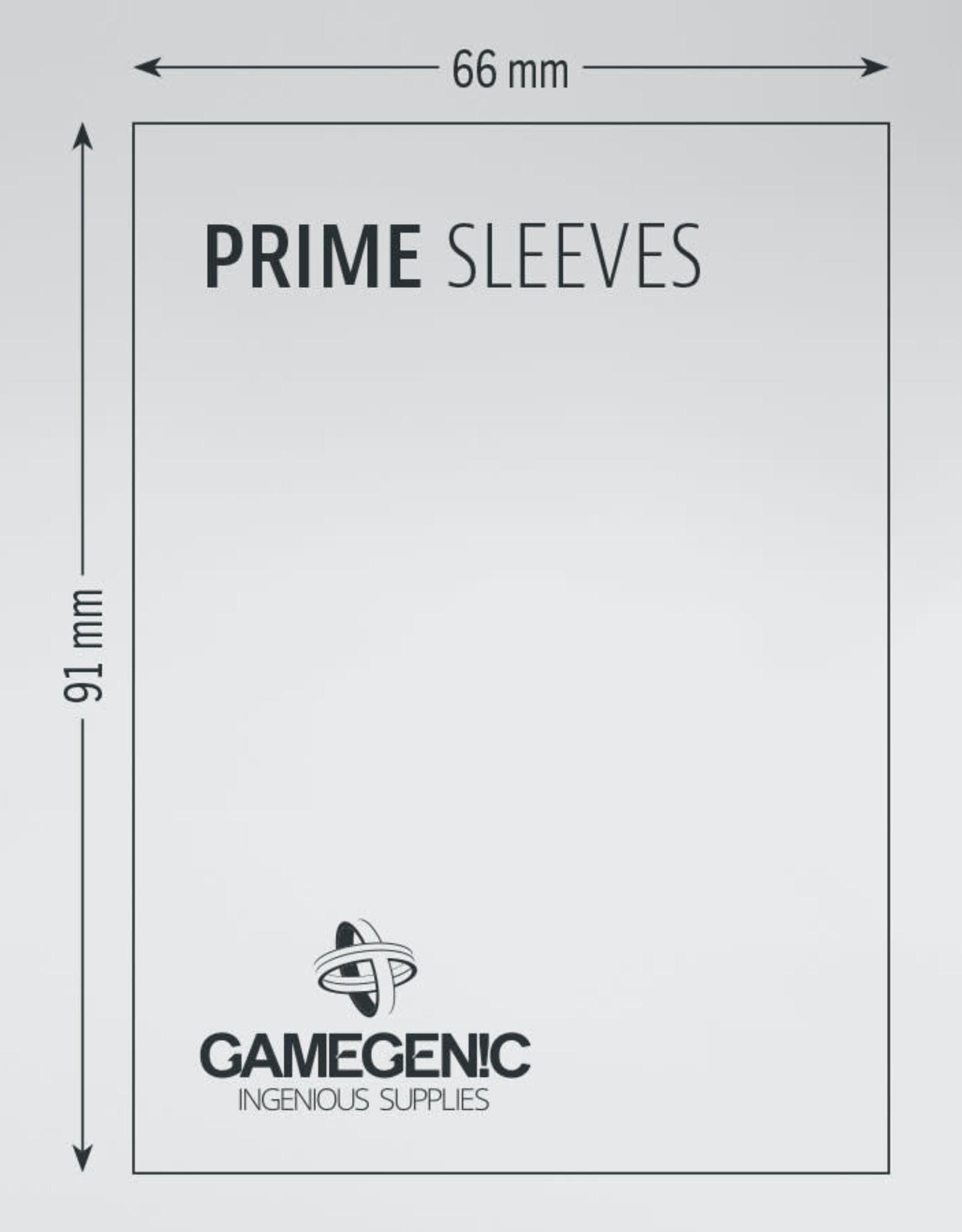 Prime Sleeves: (100) Lime