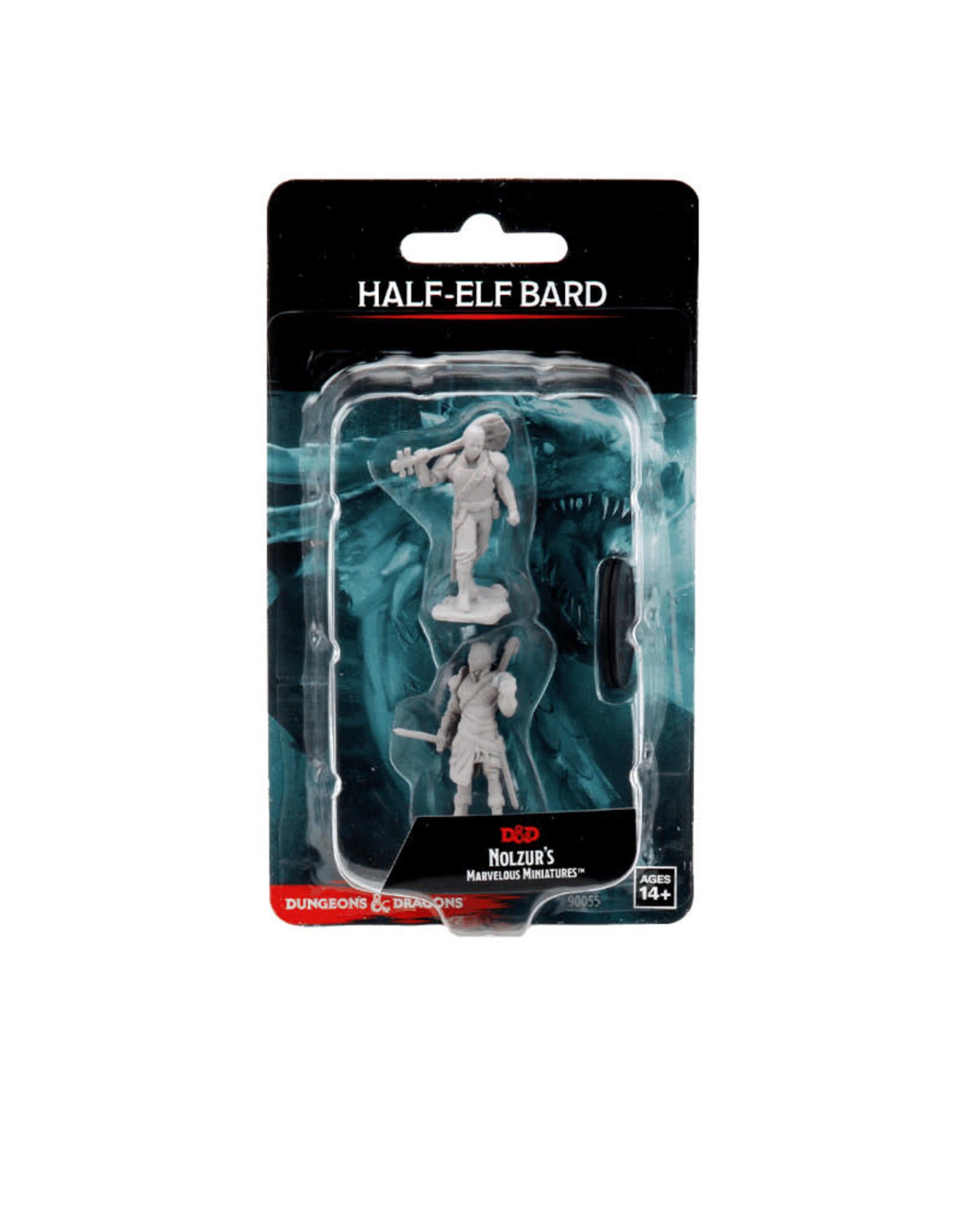 Wizkids D&D Unpainted Minis: Half-Elf Bard Male