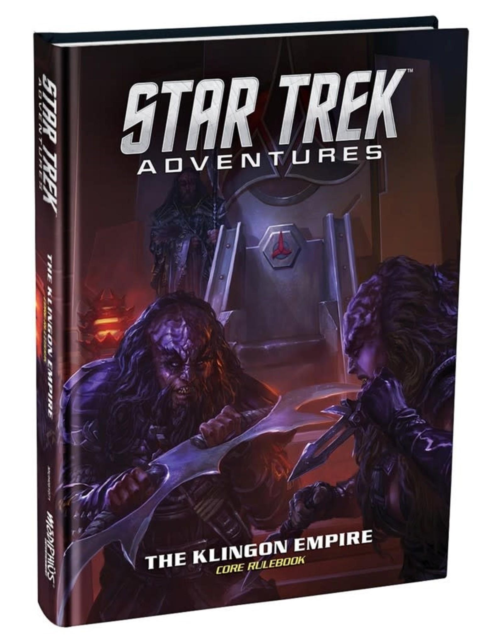 Modiphius Star Trek Adventures: Klingon Empire Core Book