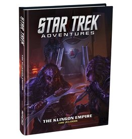 Modiphius Star Trek Adventures: Klingon Empire Core Book