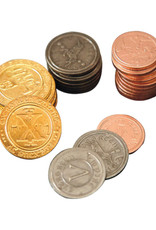 Mayday Games Board Game Upgrade Set: 50 Metal Coins