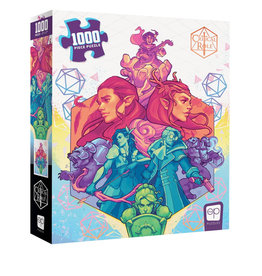 USAopoly (Q3 2020) Critical Role #2 1000 PC Puzzle