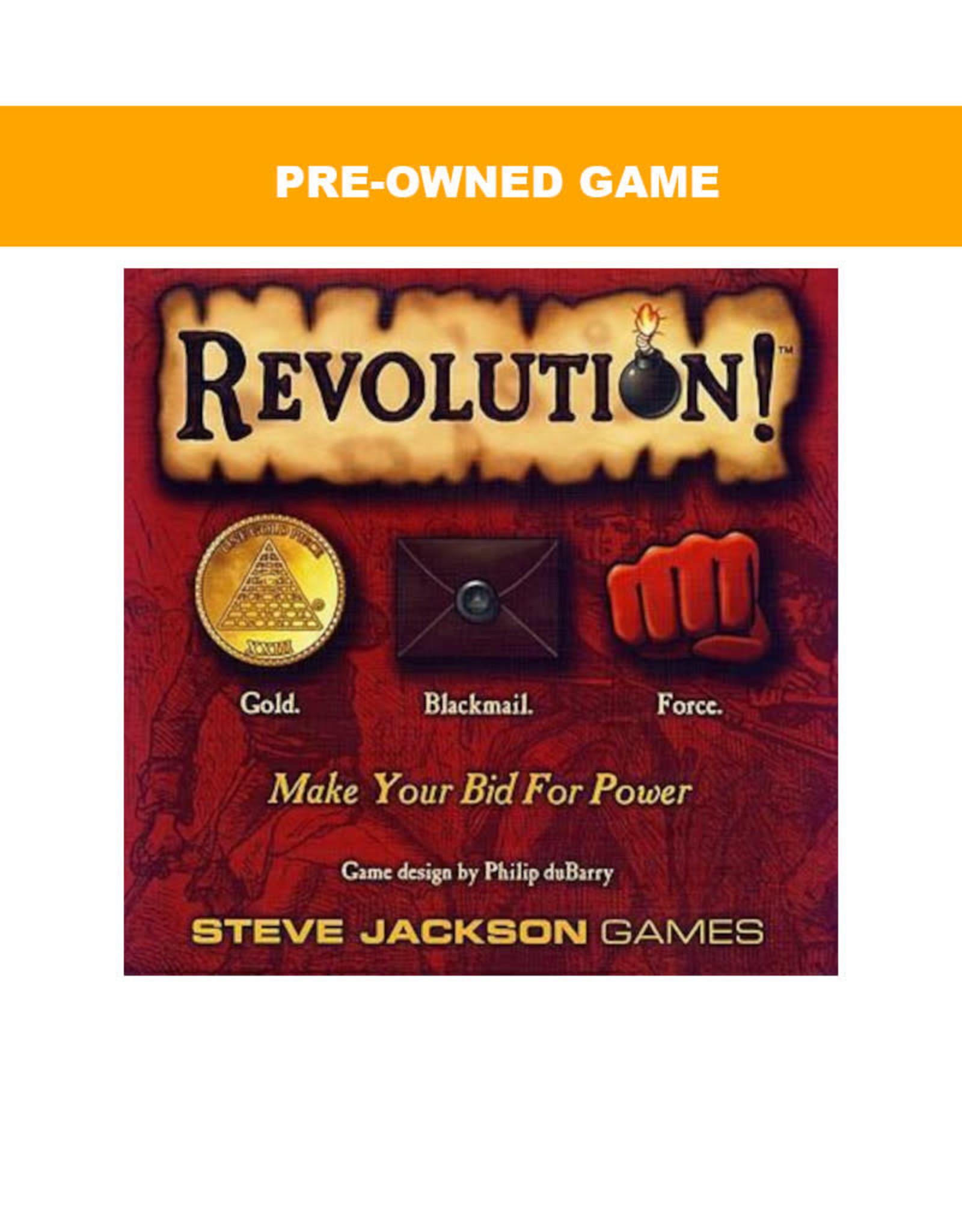 Steve Jackson Games (Pre-Owned Game) Revolution