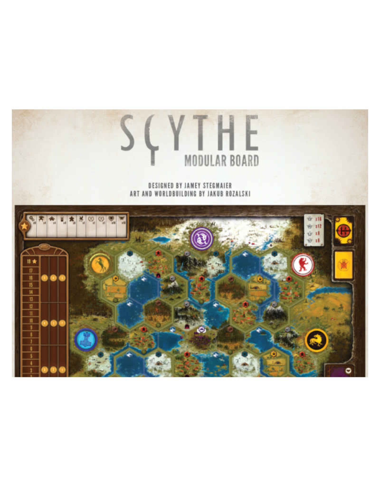 Stonemaier Games Scythe Modular Board Expansion