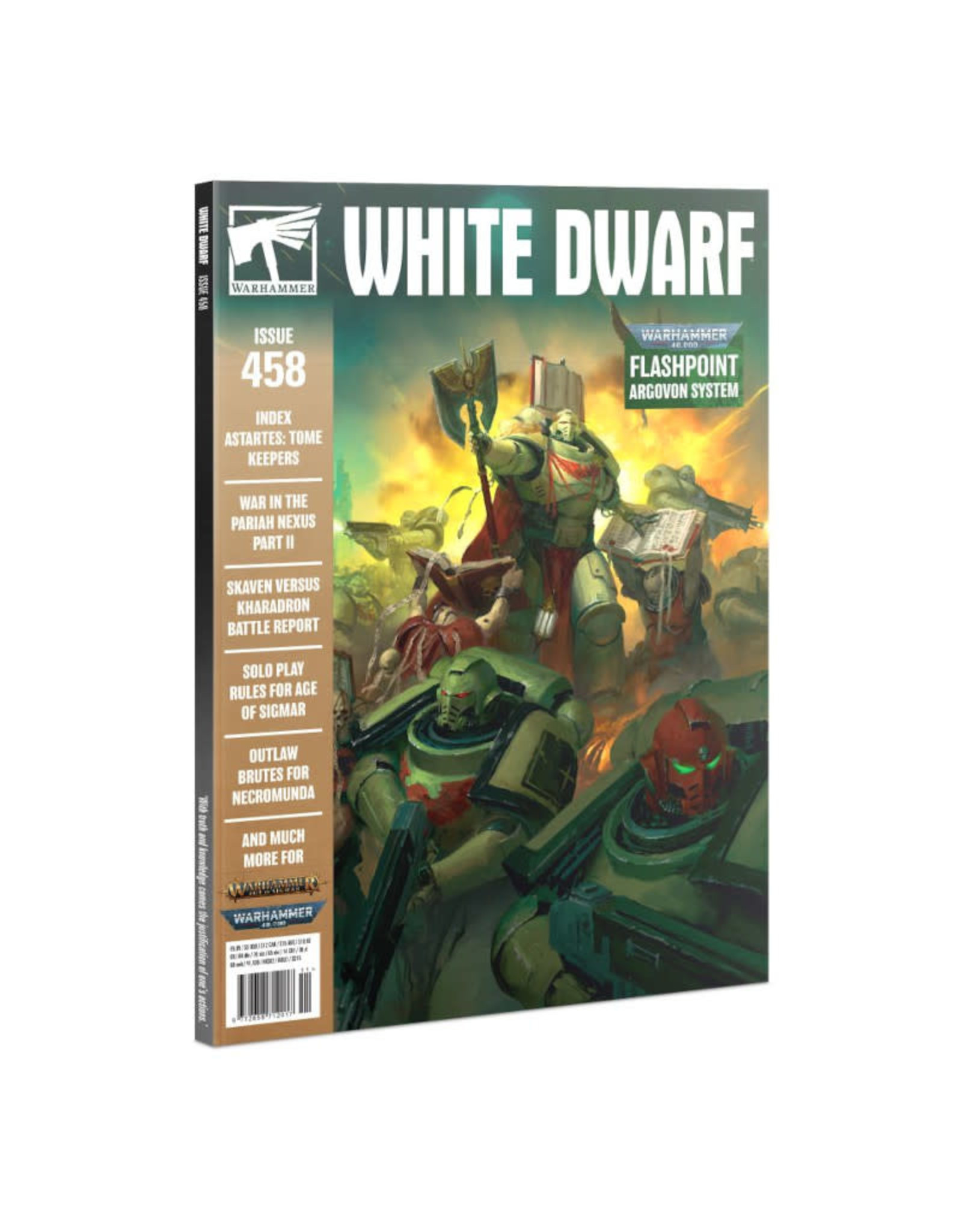 Games Workshop White Dwarf Monthly Issue 458 Nov 2020