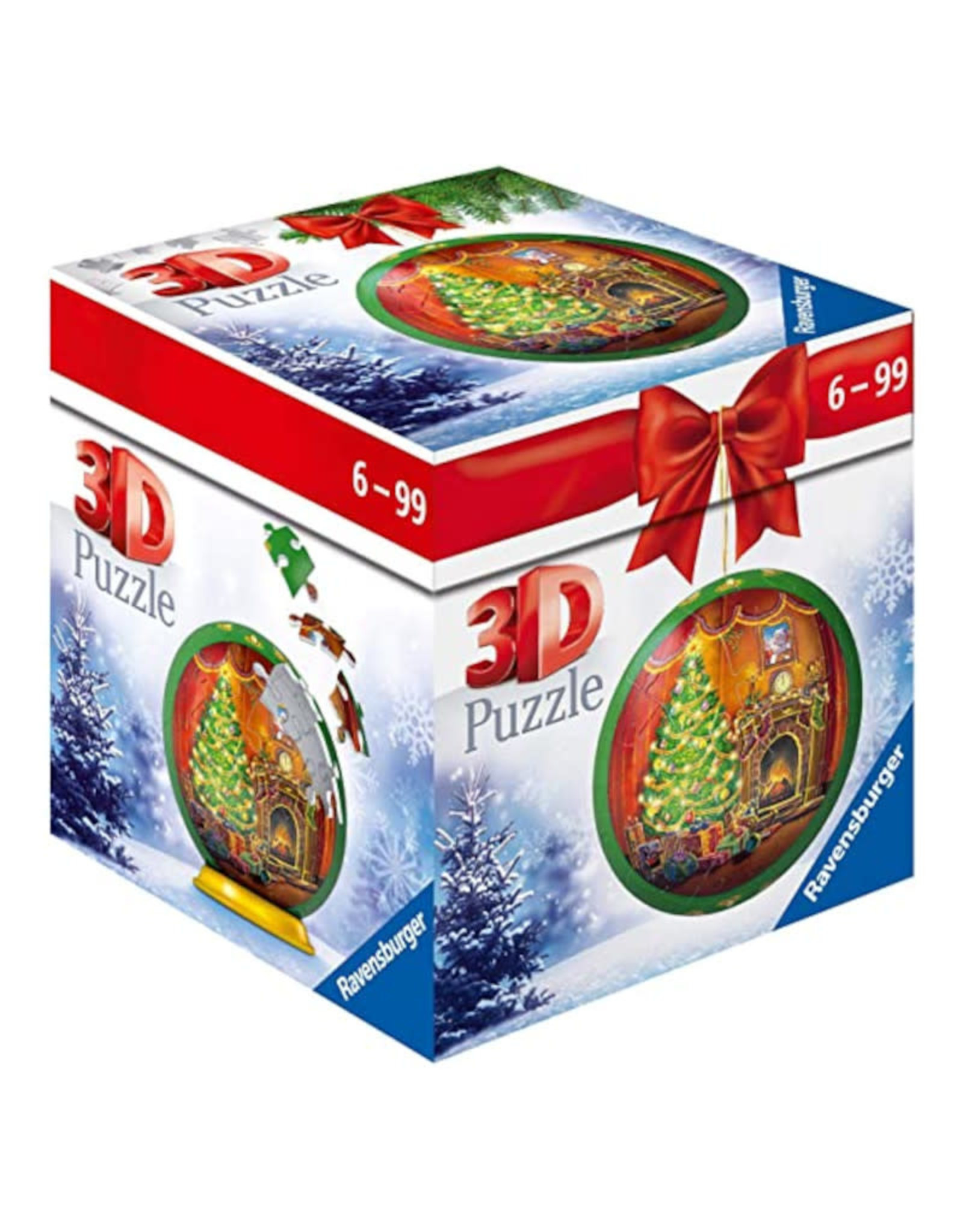 Ravensburger Snow Globe 3D Puzzle 56 PCS
