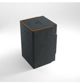 Deck Box: Watchtower XL 100+ Black/Orange