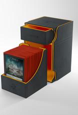 Deck Box: Watchtower XL 100+ Black/Orange