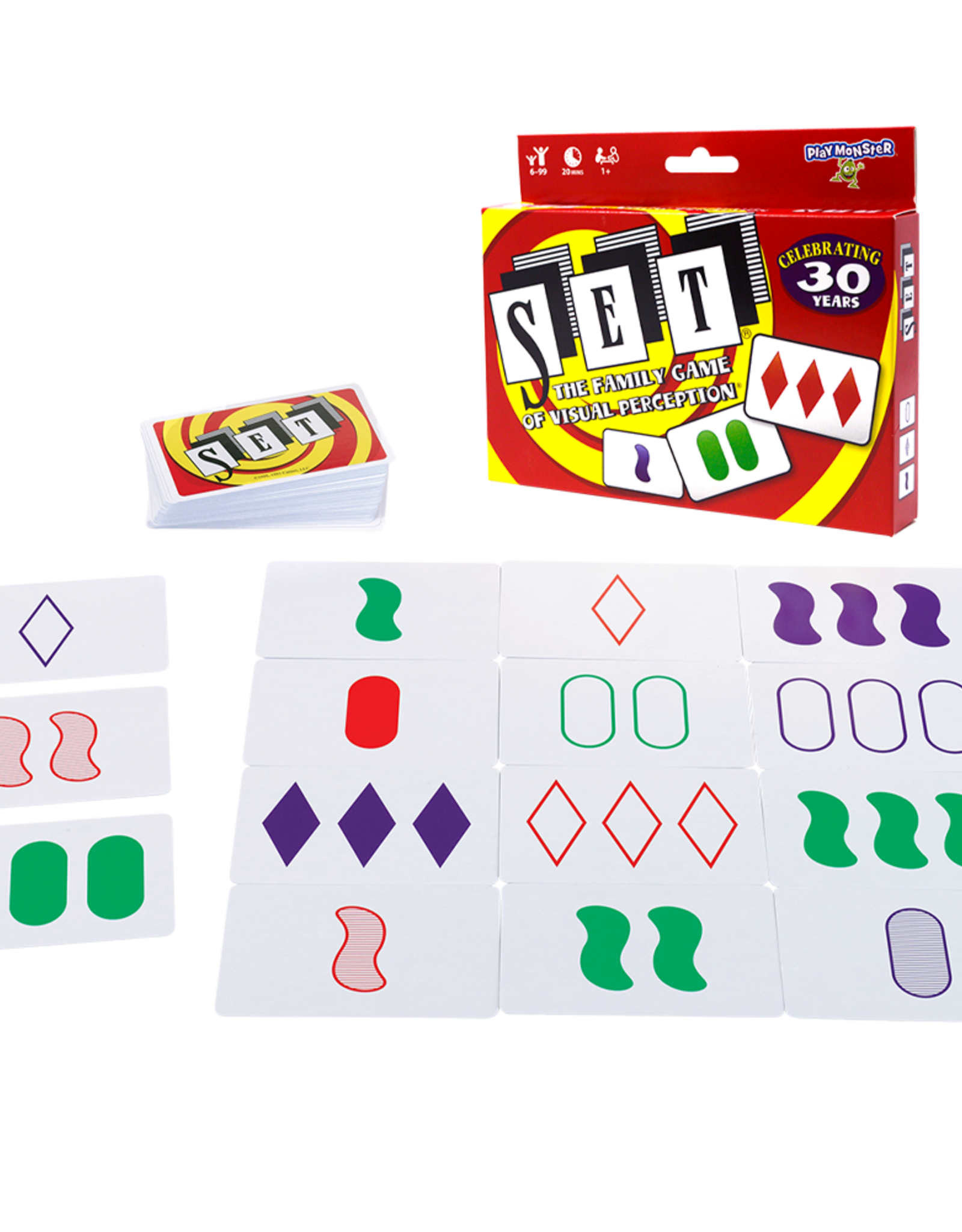 Play Monster Games Set Card Game