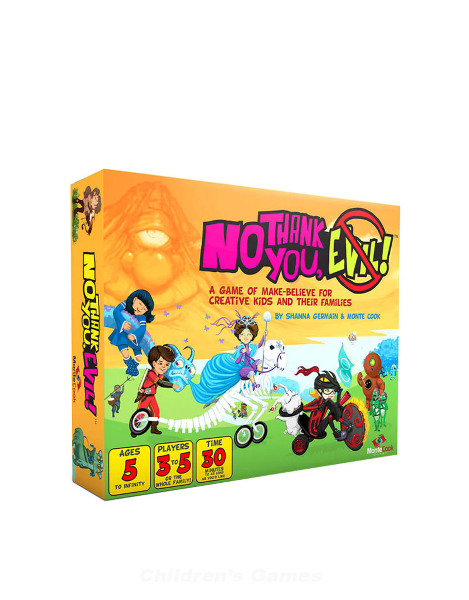 Monte Cook Games No Thank You Evil RPG