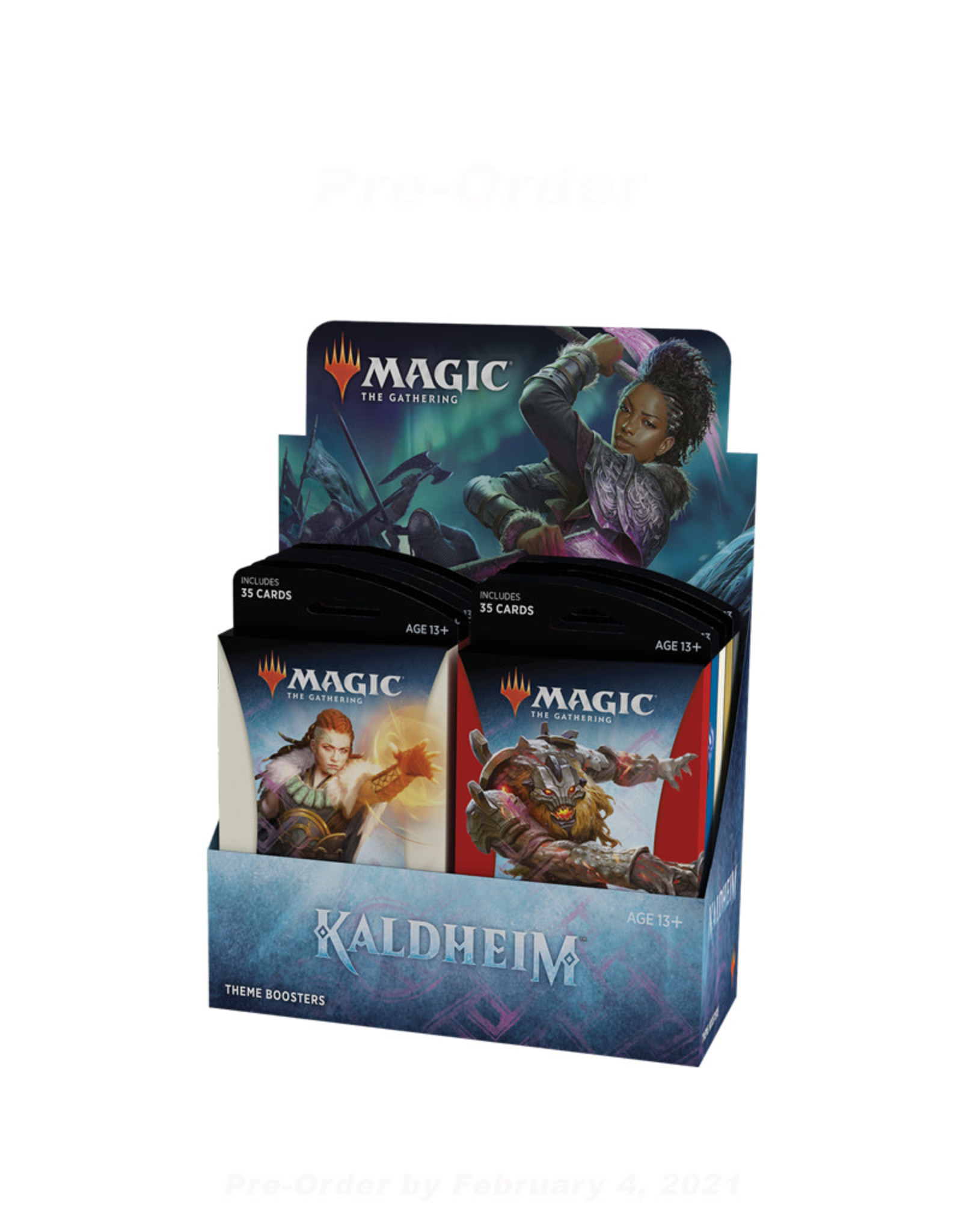 Wizards of the Coast MTG Theme Booster Display Box (12) Kaldheim (Pre-Order)