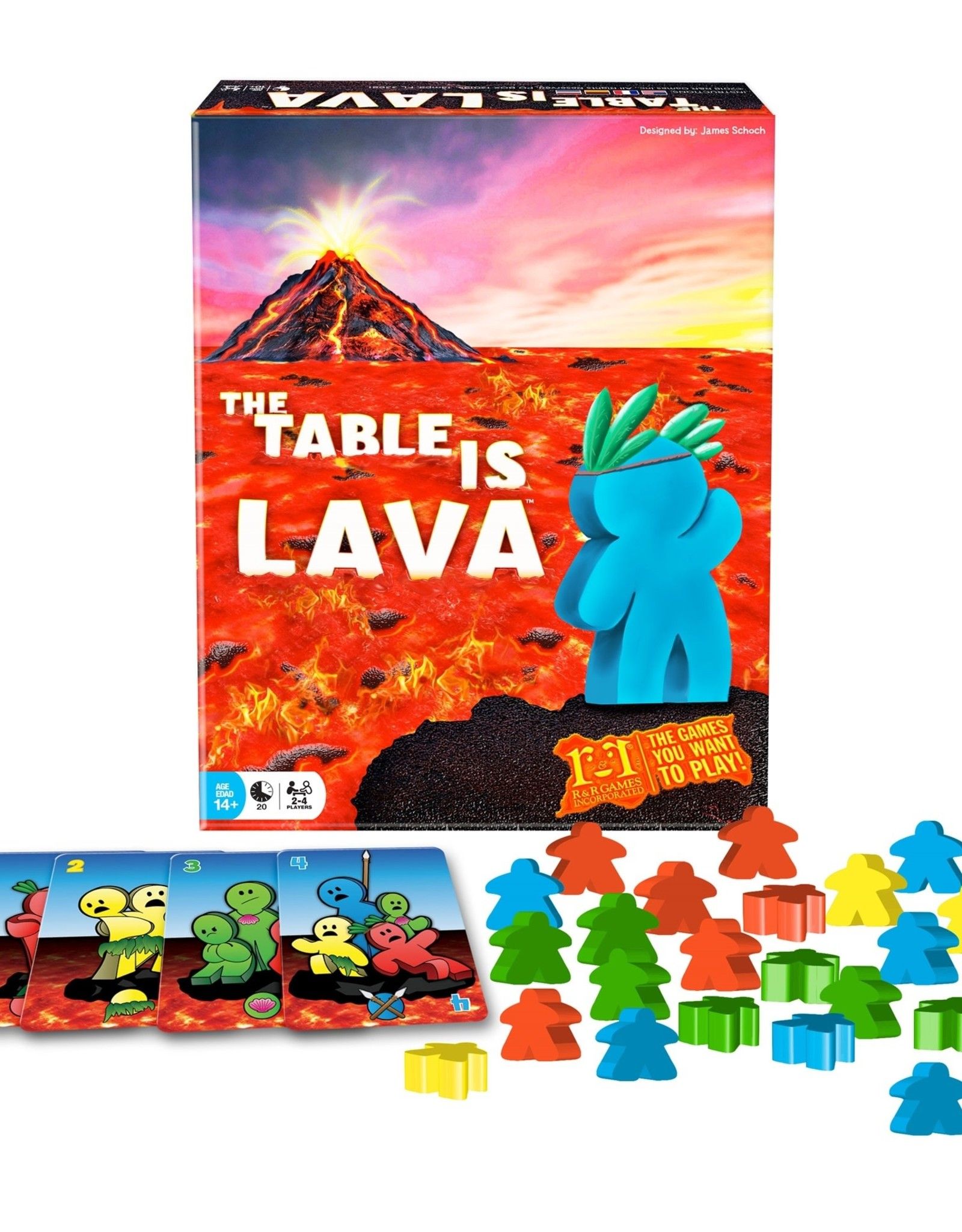 R&R Games Table is Lava
