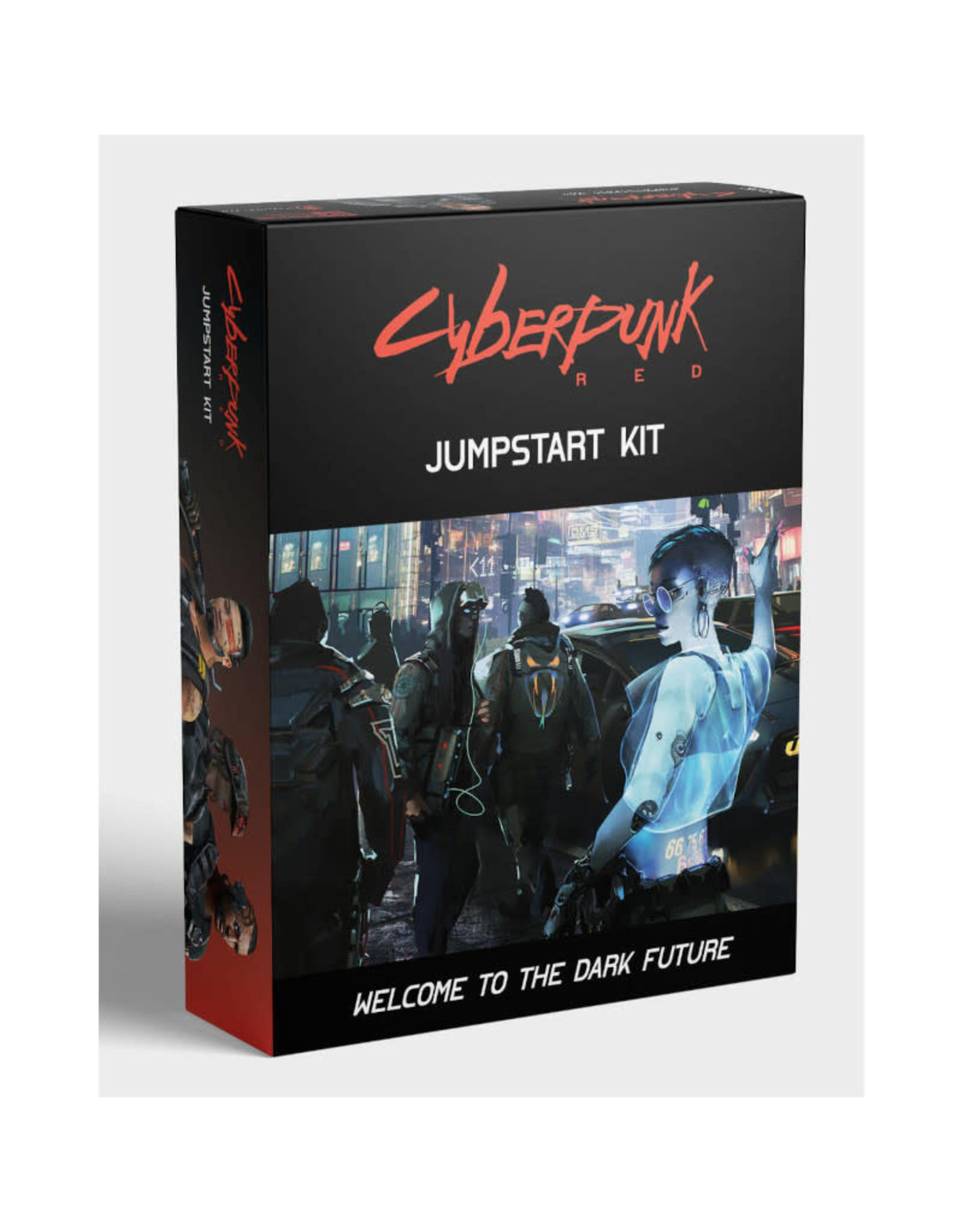R. Talsorian Games Cyberpunk Red RPG: Jumpstart Kit