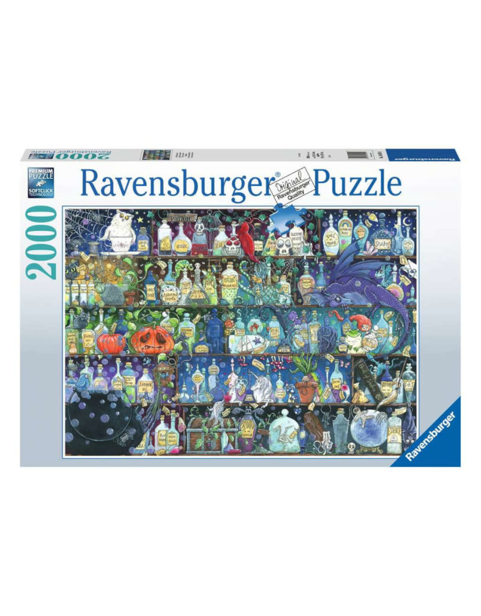 Ravensburger Poisons and Potions Puzzle 2000 PCS