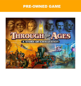 Miscellaneous (Pre-Owned Game) Through the Ages Story of Civilizatoin (old edition)